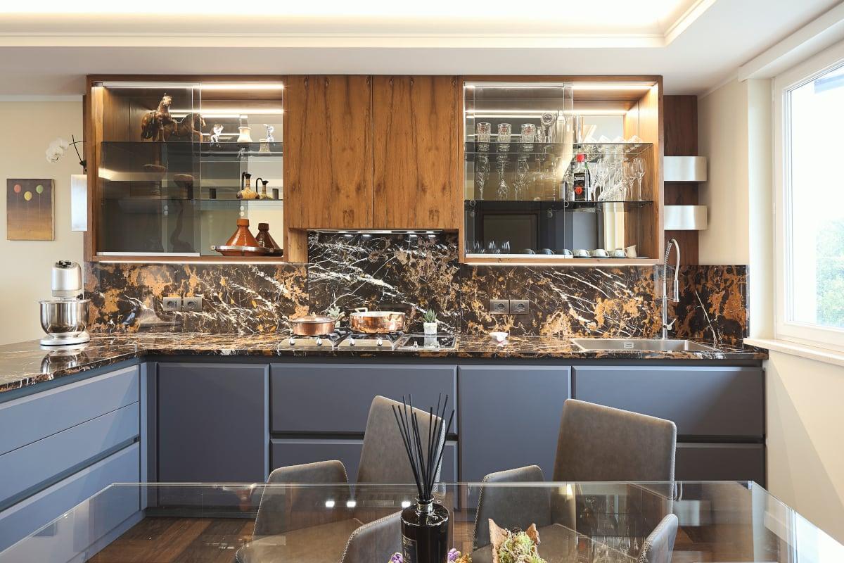 cucina su misura di naturalmente legno vicenza